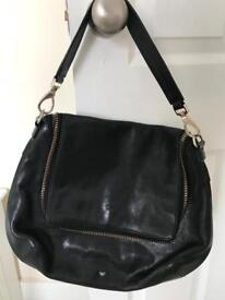 Genuine Anya Hindmarch Large Black satchel