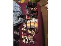Huge vape collection wismec rx200s 200w mod box istick 100w coolfire 70w smok tfv8 2x pen aspire
