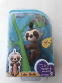 Sloth fingerling
