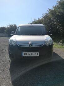 2013/63 Vauxhall Combo Ecoflex L1h1 panel van