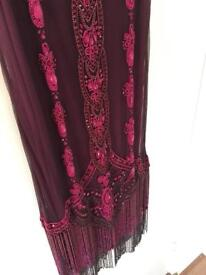 Size 12 never been worn flapper dress