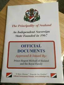 Become a lord or lady of Sealand