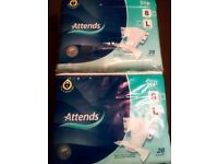 Incontenence pads