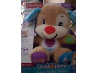 Laugh and learn puppy brand new