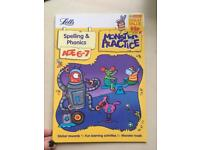 Bundle of educational kids books age 6-7 CAN BE DELIVERED maths spelling English phonics