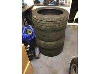 245/40/18 tyres nearly new x4