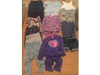 Bundle of 13pcs Girls clothes (7) 2-3 years including M&S, Mini Boden, Baby Gap