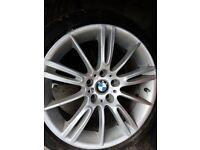 "BMW 18"" MV3 alloy wheels with Bridgestone tyres"