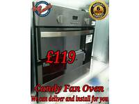 Candy Stainless Steel Fan Oven