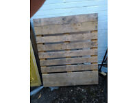 Free Pallets (x3) and Fence Shingles (about 30)