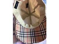 Burberry golf cap