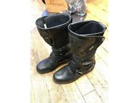 Sidi Gortex Motorcycle Boots UK9.5