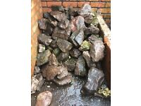 Large rockery garden stones for sale - very good quality large rockery stones for sale