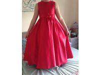 Girls bridesmaids dress size , an Emily fox,