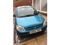 Hyundai Getz £250 MOT pass in March. Needs spark plugs & coils soon / Great 4 spares & repairs.