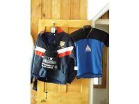 Chelmsford rugby club fleeced waterproof jacket size xl boys