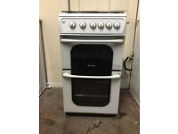 Hotpoint gas cooker 52TGW 50cm FSD 3 months warranty free local delivery!!!!!!