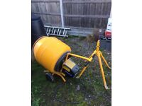 Belle mini mix 130 cement concrete mixer
