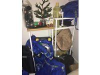 2x IKEA shelving unit DYNAN, white