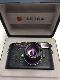 Leica 50mm Black F2 Summicron. German built