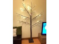 John Lewis 6ft LED light standing tree