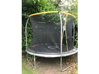 Sportspower Trampoline 10ft with enclosure