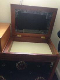Retro 1970's telephone table
