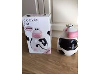 Cookie Jar - Moo Cow shape