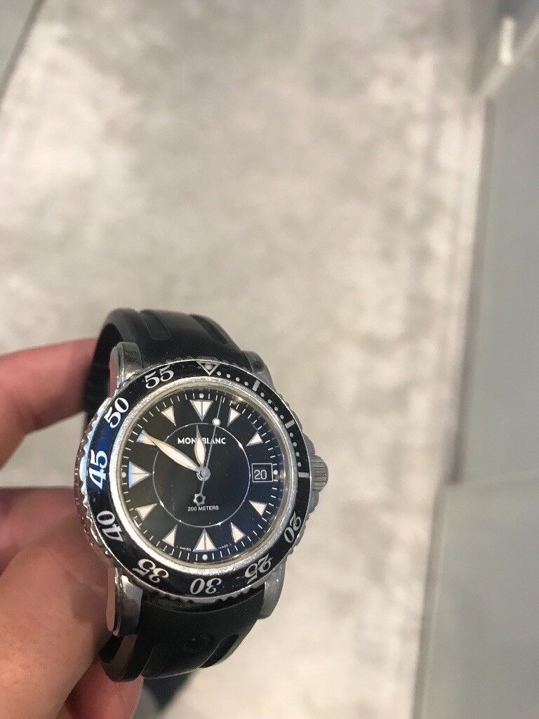 7634618a4c4 Mont Blanc Sport Watch 7037 | in Wandsworth, London | Gumtree