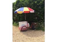 Ice cream 'stop me and buy one' bike