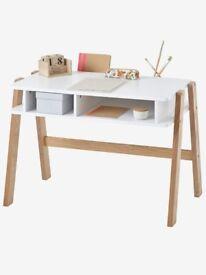 Mini Architect Pre-School Desk - white / wood
