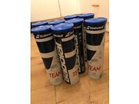 Babolat TEAM tennis balls. Sealed brand new tins. (4pk's)