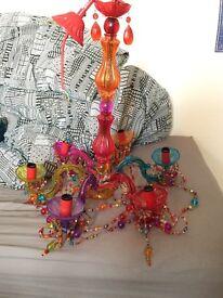 Stunning gypsy chandelier
