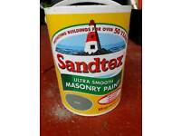 Sandtex Masonry Paint - Olive Green - Brand New