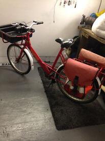 old post office bike