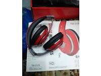 Headphone bluetooth plus wireless new