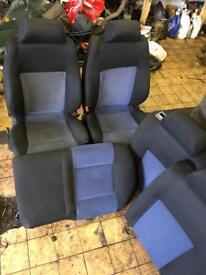 Sport interior seats door cards mk4 Golf GT GTI 5 door