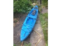 Ocean Kayak trident 15 with lots of kit