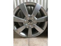 16' VW Alloy Wheels x2