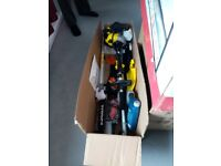 5 IN 1 GARDEN TOOL SET.WITH 52CC PETROL MOTOR.NEVER USED