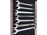 Spanner's various sizes