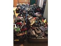 JOB LOT 500+ SHOES TRAINERS BOOTS