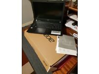 Acer laptop, extremely good condition.
