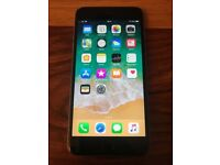 iPhone 6s Plus 64 gb Space Grey Unlocked Any UK Network & Overseas + Apple Lightning Dock + Cover