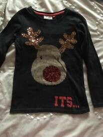 Next Rudolph Christmas Top Age 6