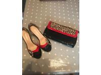 Shoes and bag set