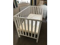 Baby mothercare cot