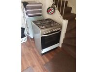 Indesit I6G52X 60cm Wide Single Oven Dual Fuel Cooker - Stainless Steel- Pickup only Southfields