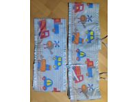 2x cot bumper breathable mesh boys cars transport TK MAXX