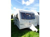 Bailey Pegasus Genoa 2 berth touring caravan 2011